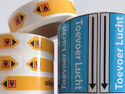 Stickers bestel je bij Etishop